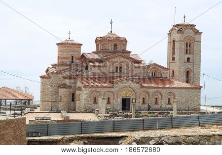 Church of St. Panteleimon in Ohrid, Republic of Macedonia