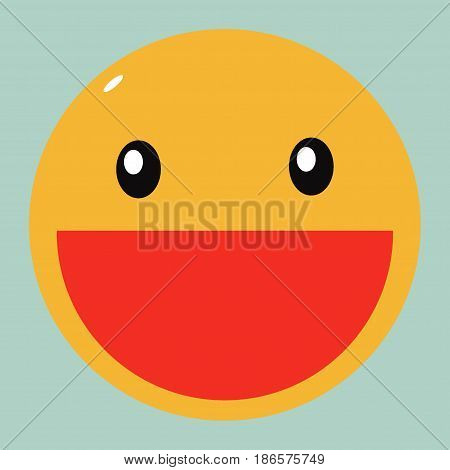 Smile icon, Smile, Smile icon vector illustration