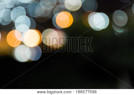 white and yellow bokeh , abstract color background.