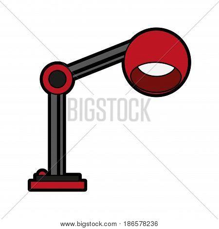 desk lamp icon image vector illustration design