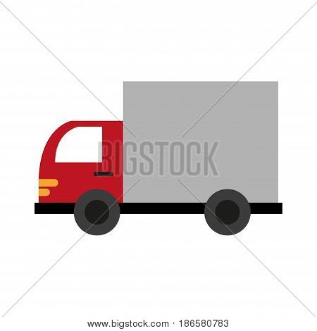 delivery or cargo truck icon image vector illustration design