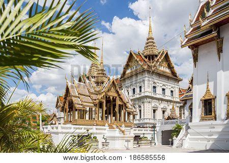 Majestic Wat Pho temple of Bangkok, Thailand