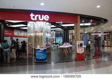 True Shop Inside Of Central Festival Chiangmai