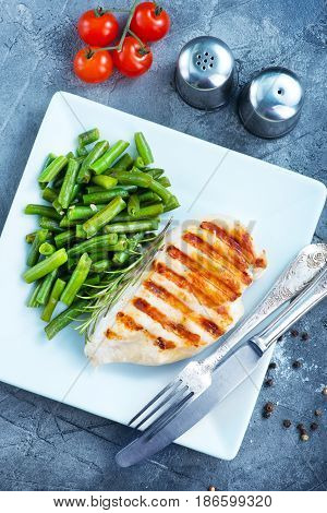 Chicken Breast With Bean