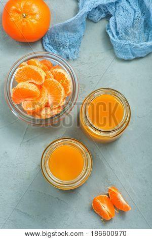 Tangerines Juice