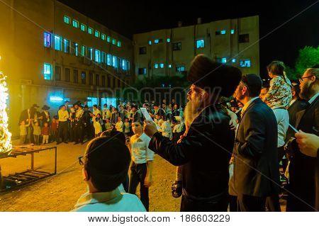 Lag Baomer In Haifa