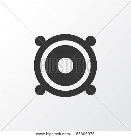 Speaker Icon Symbol. Premium Quality Isolated Megaphone Element In Trendy Style.