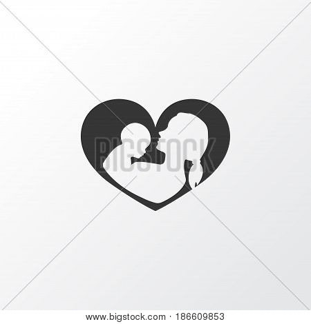 Nanny Icon Symbol. Premium Quality Isolated Infant Element In Trendy Style.