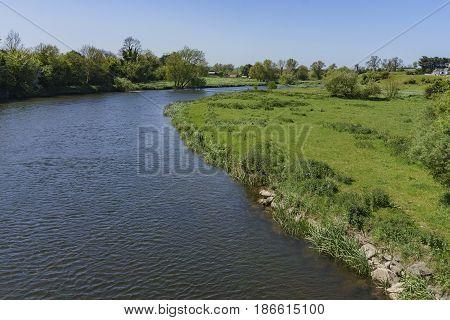 Rural Scene Near Boyne Valley - Bru Na Boinne