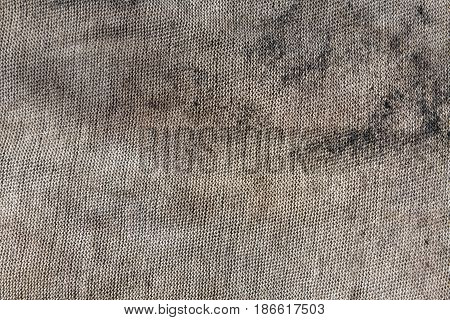Dirty Gray Textile Rag Texture.