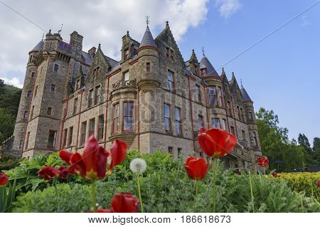 Exterior View Of The Belfast Castle