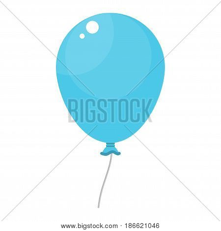 Bright Blue Balloon
