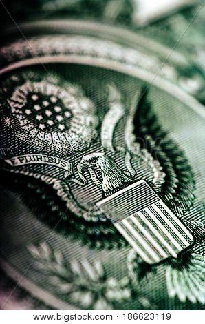 One Dollar Bill - Macro Nb. 32