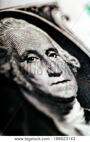 One Dollar Bill - Macro Nb. 35