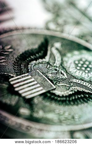 One Dollar Bill - Macro Nb. 38