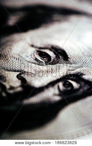 Hundred Dollar Bill - Macro Nb. 14