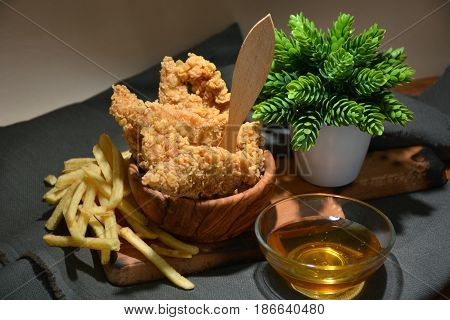 Fried Chicken Platter