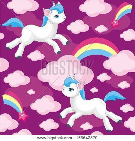 Little Unicorn Pattern.eps