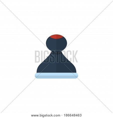 Flat Stamp Element. Vector Illustration Of Flat Mark  Isolated On Clean Background. Can Be Used As Mark, Stamp And Model Symbols.