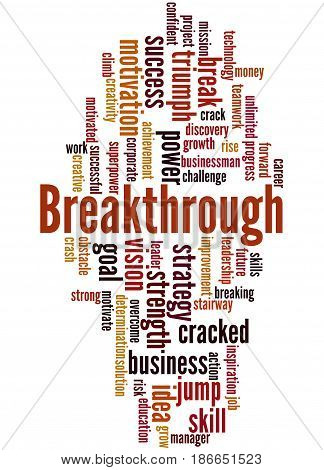 Breakthrough, Word Cloud Concept 3