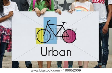 Diverse People Urban Exercise