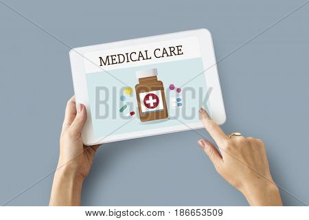 Medical Healthcare Medicine Treatment Graphic