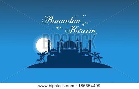 Collection stock greeting card Ramadan Kareem vector art