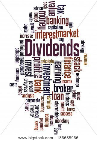 Dividends, Word Cloud Concept 4