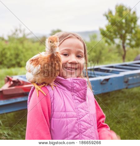 Happy Friends Outdoor Portrait