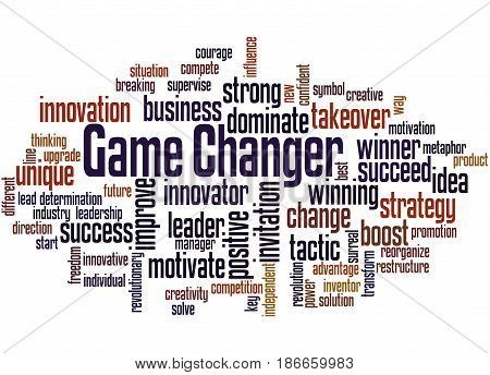 Game Changer, Word Cloud Concept 2