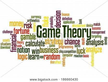 Game Theory, Word Cloud Concept 4