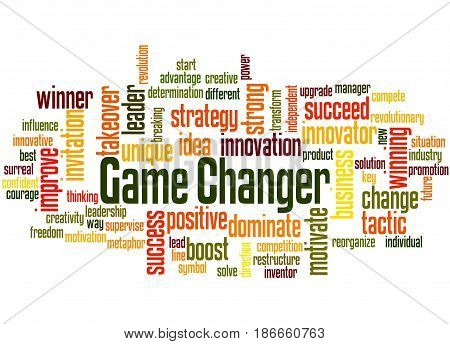 Game Changer, Word Cloud Concept 4