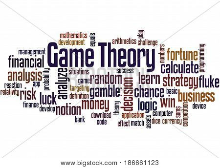 Game Theory, Word Cloud Concept 2