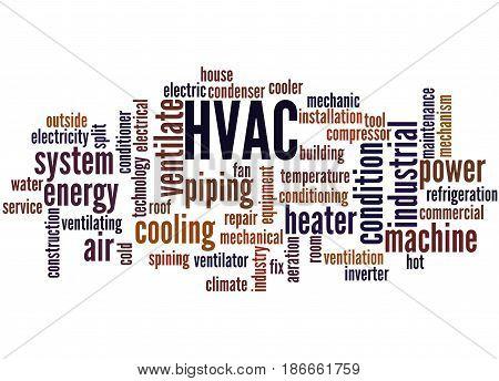 Hvac, Word Cloud Concept 2