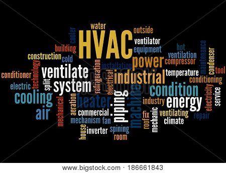 Hvac, Word Cloud Concept 3