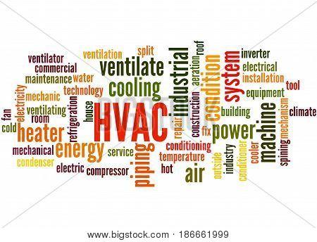 Hvac, Word Cloud Concept 5