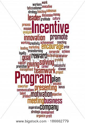 Incentive Program, Word Cloud Concept 5