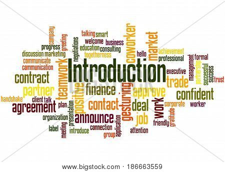 Introduction, Word Cloud Concept 4