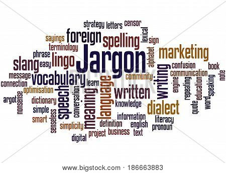 Jargon, Word Cloud Concept 2