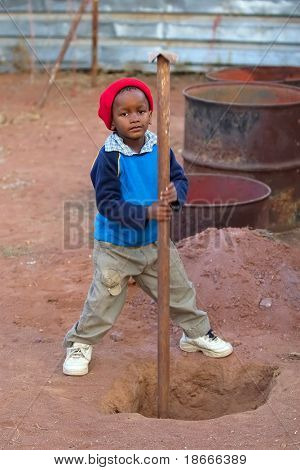 African child, child labor, social issues, poverty