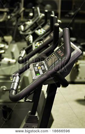 Fitness centre, health bikes, studio