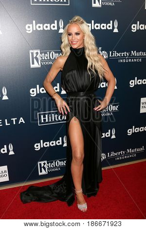 LOS ANGELES - APR 1:  Gigi Gorgeous at the 28th Annual GLAAD Media Awards at Beverly Hilton Hotel on April 1, 2017 in Beverly Hills, CA