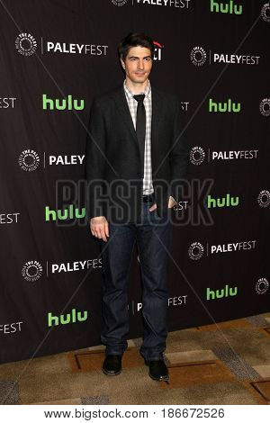 LOS ANGELES - MAR 18:  Brandon Routh at the 34th Annual PaleyFest Los Angeles - The CW at Dolby Theater on March 18, 2017 in Los Angeles, CA
