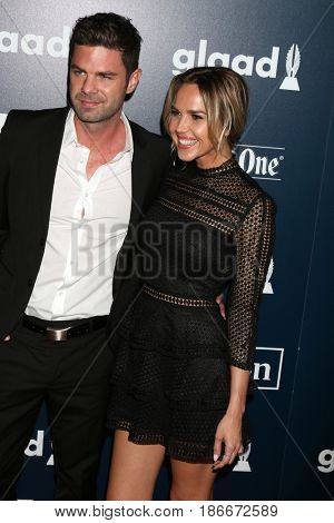 LOS ANGELES - APR 1:  Guest, Arielle Kebbel at the 28th Annual GLAAD Media Awards at Beverly Hilton Hotel on April 1, 2017 in Beverly Hills, CA