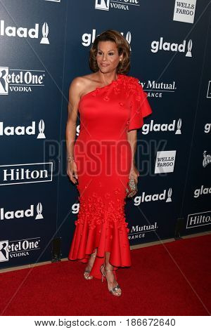 LOS ANGELES - APR 1:  Alexandra Billings at the 28th Annual GLAAD Media Awards at Beverly Hilton Hotel on April 1, 2017 in Beverly Hills, CA