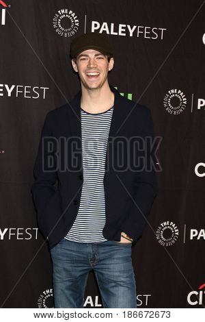 LOS ANGELES - MAR 18:  Grant Gustin at the 34th Annual PaleyFest Los Angeles - The CW at Dolby Theater on March 18, 2017 in Los Angeles, CA