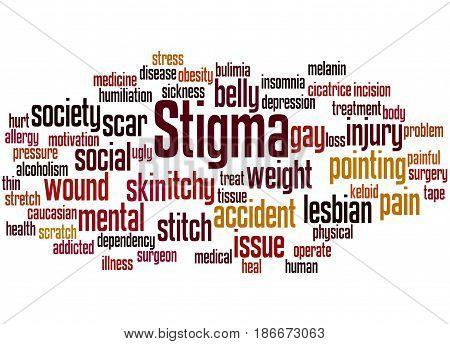 Stigma, Word Cloud Concept 2