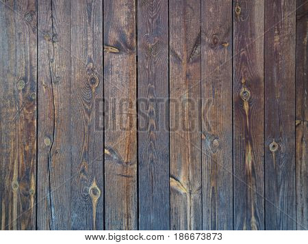 Painted fence floor wall Wood panel background. Old vintage planked vertical wooden texture. Boards empty clear background for flat lay photo design