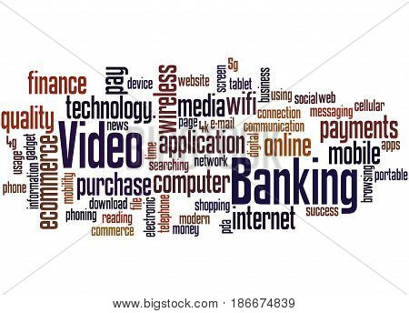 Video Banking, Word Cloud Concept 2