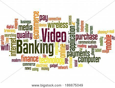 Video Banking, Word Cloud Concept 5